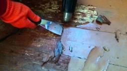 Демонтаж покрытия (лак/краска)