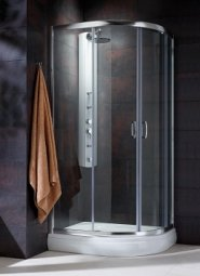 Душевая кабина Radaway Premium Plus прозрачное 100х80х190