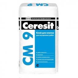Клей Ceresit CM9 для керамической плитки для внутренних работ25 кг