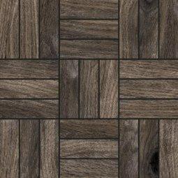 Мозаика Kerranova Forest структурированный серый 30x30