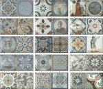 Плитка для стен Monopole Ceramica Antique серый 10х20