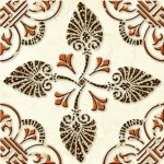 Декор напольный Cersanit Livadia  LD6G012 бежевый 11х11