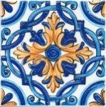 Декор Kerama Marazzi Капри майолика STG\A458\5232 20х20