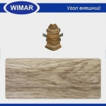 Угол внешний Wimar 825 Дуб Ппальмира 86мм (2шт)