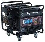 Генератор бензиновый Elitech БЭС 1200 Е 8500/9500 Вт электрический запуск