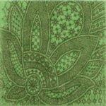 Декор Kerama Marazzi Тантра AD\B93\1221T 9.9х9.9 зеленый
