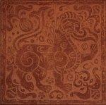 Плитка для пола Сокол Родос RDS611-4 коричневая матовая 33х33