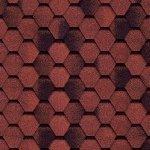 Гибкая черепица Tilercat двухслойная Прима 1000x317x3.5мм красный