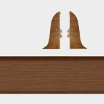 Заглушка левая и правая Т-Пласт 029 Сосна Корабельная 58мм (2шт)
