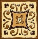 Декор Freelite Универсальные вставки для пола Дрезден 9.5x9.5