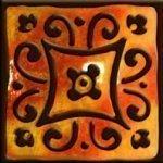 Декор Freelite Универсальные вставки для пола Майорка Оранж 7x7