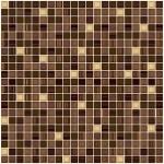 Плитка для пола Пиастрелла Сизаль коричневая 40х40