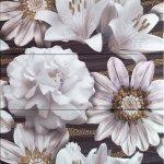 Панно Ceramica Latina Oxus Conjunto Marron 3 pz 75x75