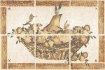 Панно Cersanit Ariza Wood Bianco ARI-WPB306 светло-бежевое 20х30