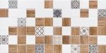 Декор Lasselsberger Астрид 20x40 белый 2 1041-0179