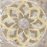 Панно Kerranova Premium marble полированный светло-коричневый 120x120