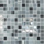 Мозаика Elada Crystal JSM-CH1023 серая полосатая 32.7x32.7