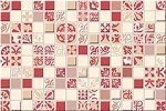 Декор Azori Vento Carmine Mosaic 20х30