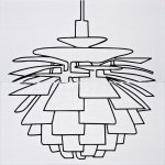 Панно Atem Kuznetsov Lampa 1 59х59.5