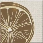 Декор Opoczno Inwencja lemonka многоцветный 10х10