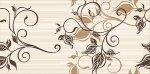 Декор Azori Карамель Шоколад Флора 20.1x40.5