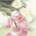 Панно Уралкерамика Рефлекс тюльпаны ПН7РТ1 72.8x74.7