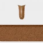 Угол внутренний Т-Пласт 086 Мрамор 58мм (2шт)