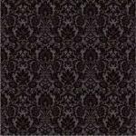 Плитка для пола Керамин Органза 5П Чёрный 40x40