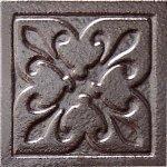 Декор Freelite Универсальные вставки для пола Орлеан Серебро 6x6