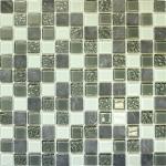 Мозаика Elada Crystal+Stone CTB 28 пепельно-серая 32.7x32.7
