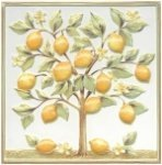 Декор Kerama Marazzi Капри Лимонное дерево TLA001 20х20